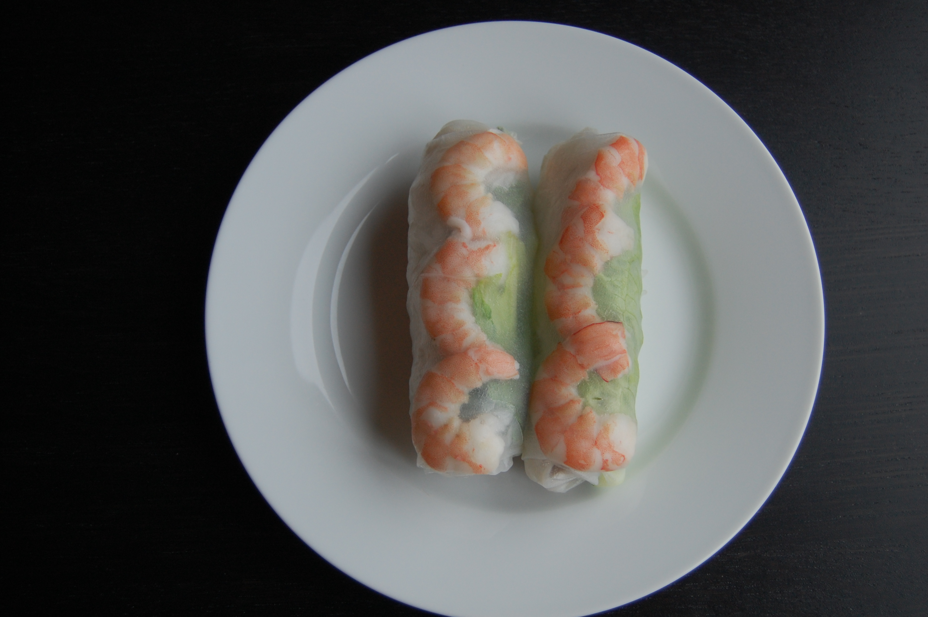Friday was Summer Roll (goi cuon) night, pork and shrimp veggie rolls ...